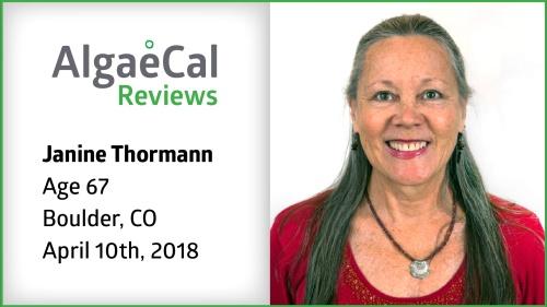 Testimonial thumbnail portrait of Janine Thormann