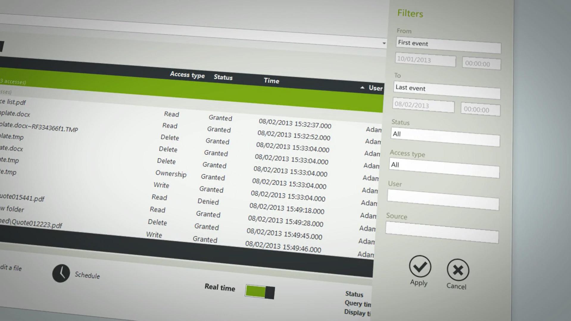 axp audit express software