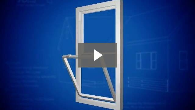 Video play button - opening bottom section of window