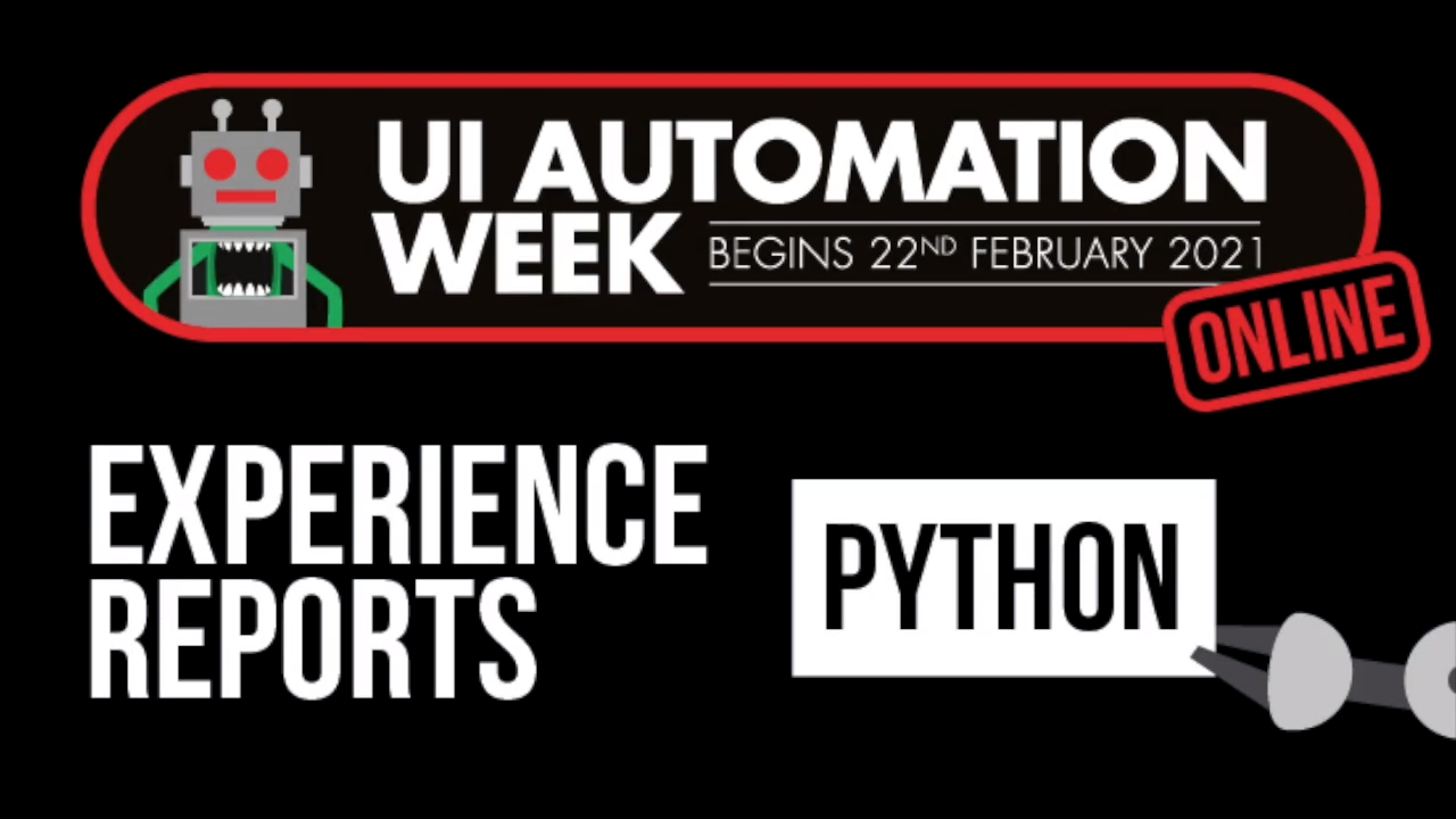 Experience Reports - Python Edition