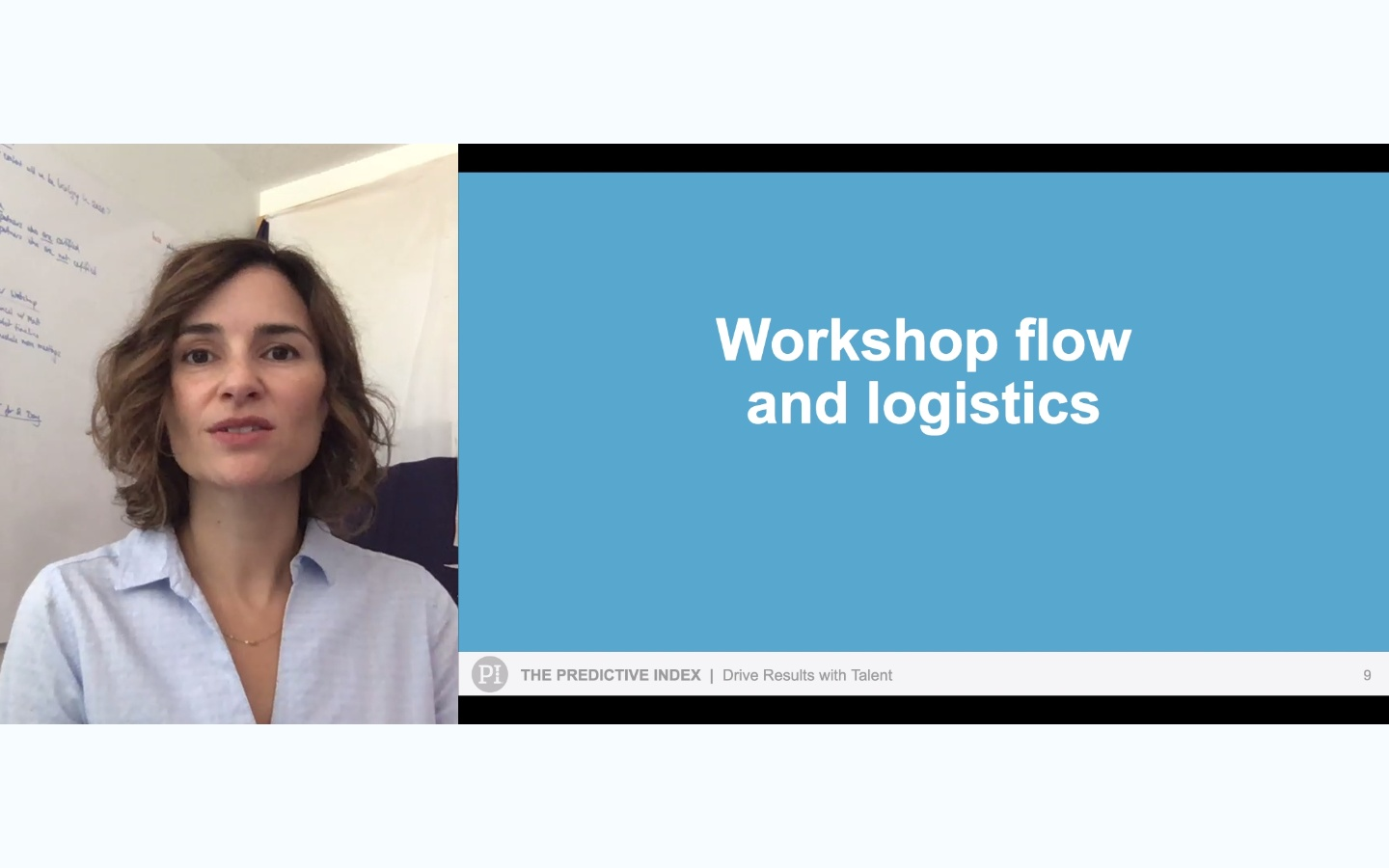 Drive Results with Talent Workshop - 2. Workflow and Logistics