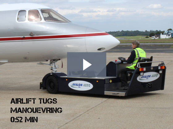 Manoeuvring with the AIRLIFT electric aircraft tug