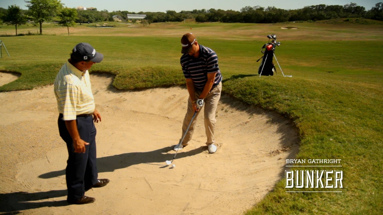 Bunkers: Difficult Situation in a Fairway Bunker