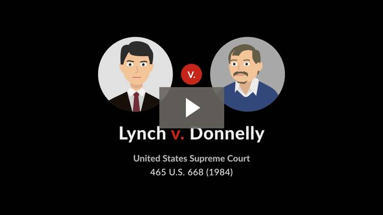 Lynch v. Donnelly