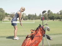 Video: Golf Bag Swing Recorder Clip | SELFIE GOLF