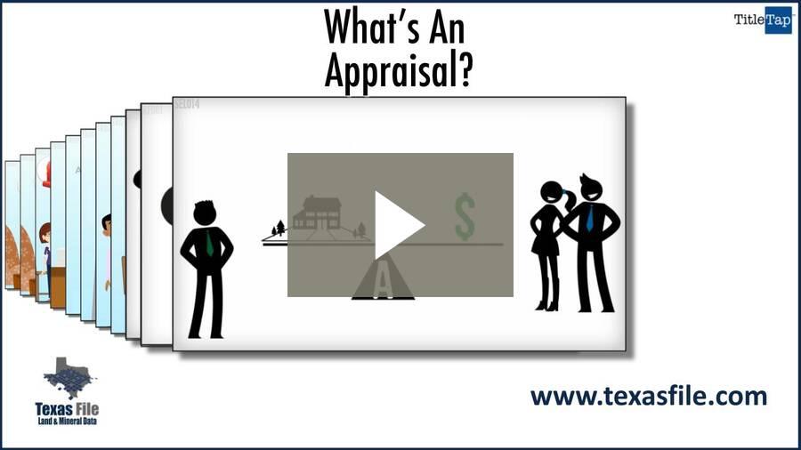 What's An Appraisal?