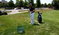 Rotational Drill to Help Hit Solid Pitch Shots