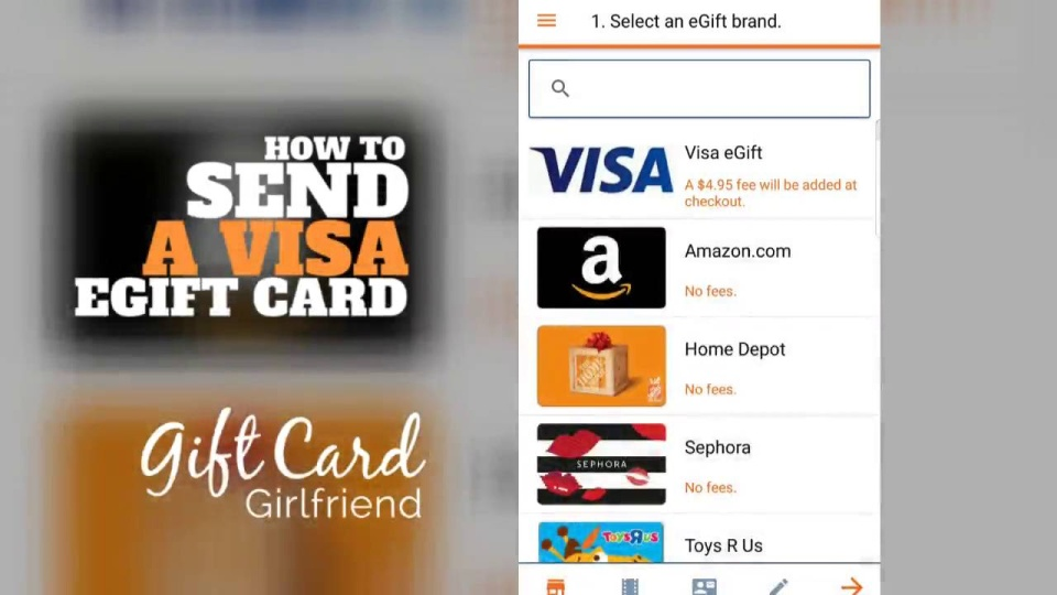 How To Send Electronic Visa Gift Cards