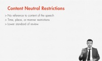 Distinguishing Content Based v. Content Neutral Restrictions thumbnail