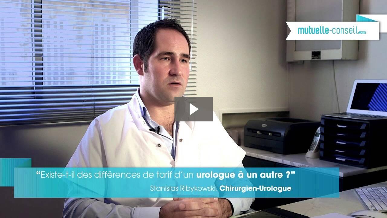 Existe-t-il des différences de tarifs d'un urologue à un autre ?