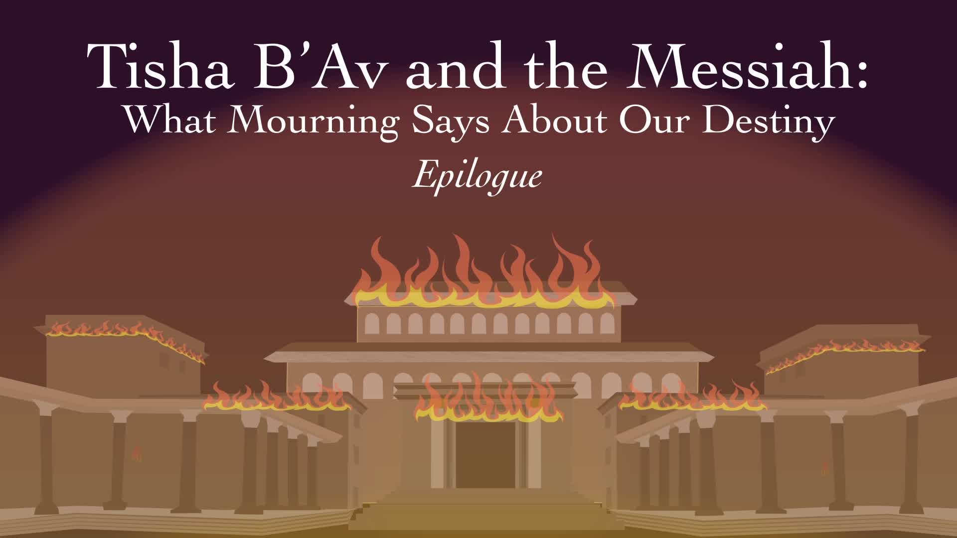 Tisha B'Av and the Messiah: Epilogue