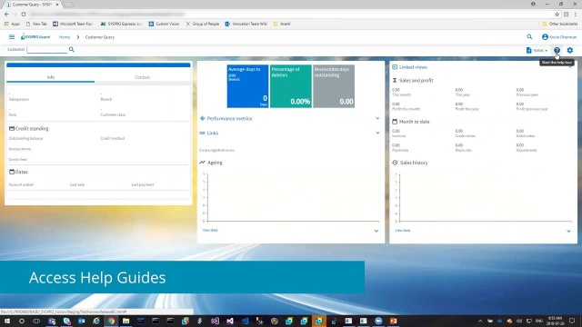 SYSPRO Avanti Demo for FLOW only