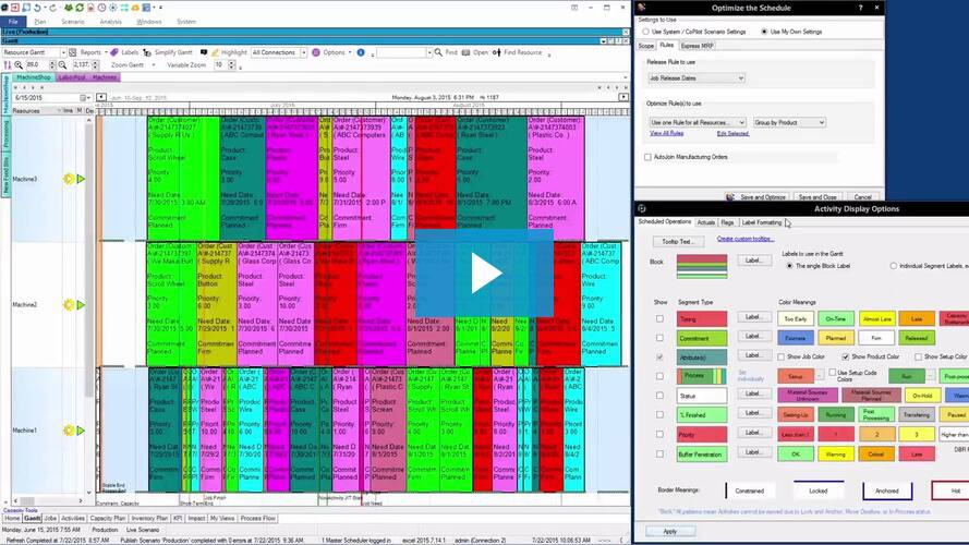 Get Ready For An Optimized Planning Scheduling Experience