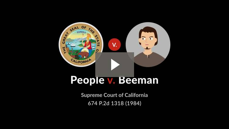 People v. Beeman