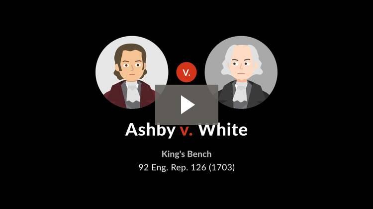 Ashby v. White