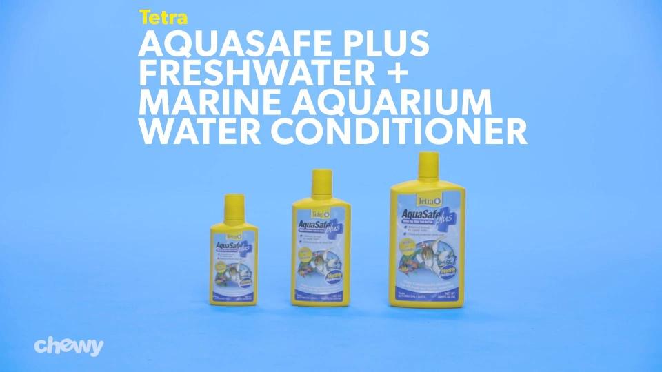 Tetra Aquasafe Plus Freshwater Marine Aquarium Water Conditioner