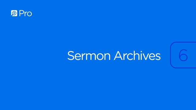 MacArthur Sermon Archives