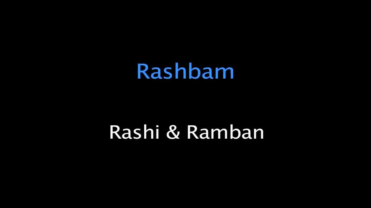Rashi and Ramban on 'Who Sold Joseph'