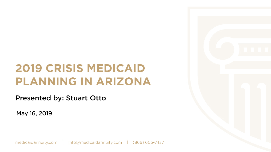 Crisis Medicaid Planning in Arizona