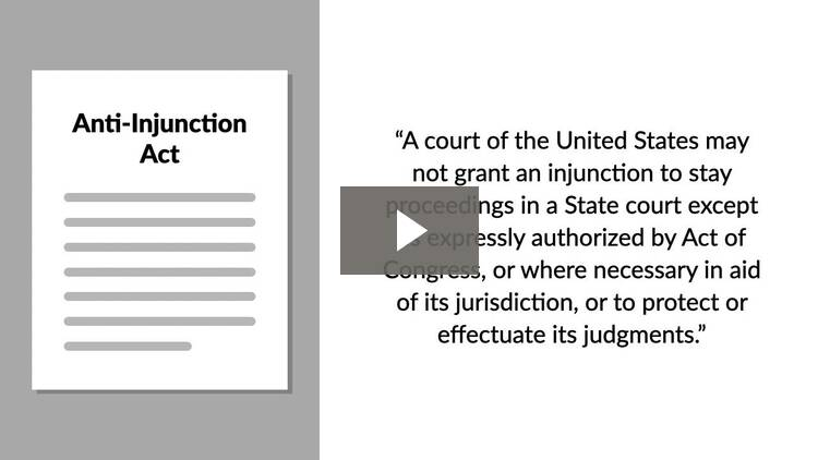 Anti-Suit Injunctions and Modification/Dissolution of Injunctions