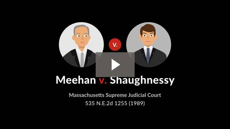 Meehan v. Shaughnessy
