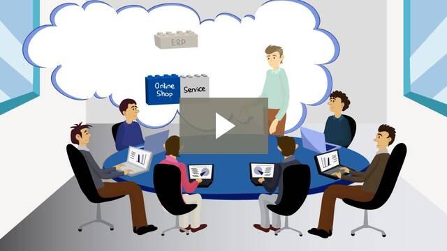 Neuer myfactory cloud erp Imagefilm