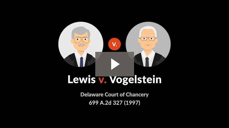 Lewis v. Vogelstein