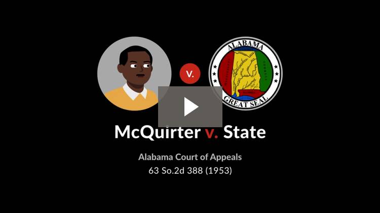McQuirter v. State