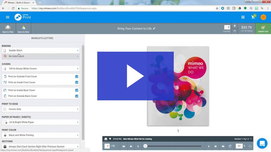 Mimeo Print App Video - Immigrant Biz