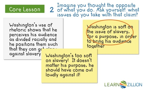learnzillion writing an introduction for an argumentative essay