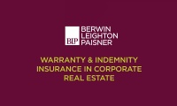 Still image from 'Warranty and Indemnity Insurance in Corporate Real Estate' video