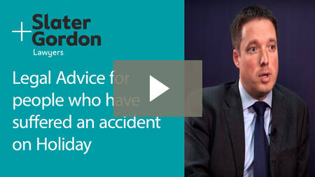 Slater and Gordon Travel Accident Claims