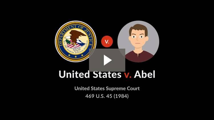 United States v. Abel