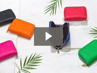 Video for Mini Zip-Around Card Wallet