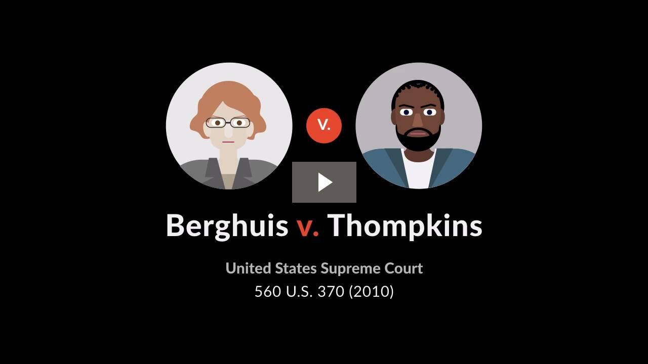 Berghuis v. Thompkins