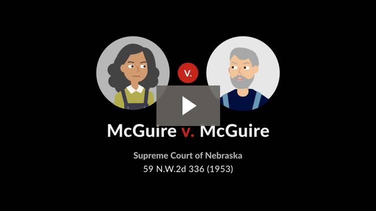 McGuire v. McGuire