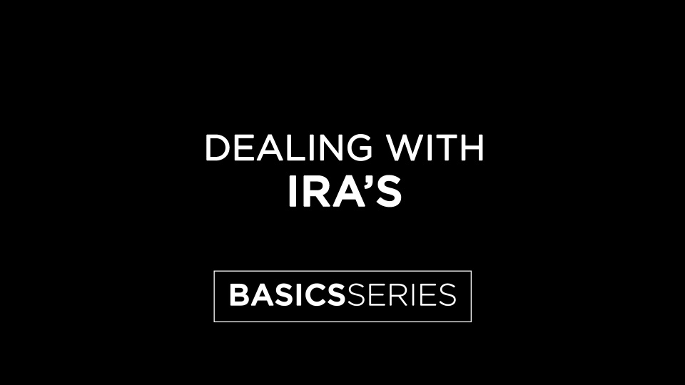 Dealing with IRAs