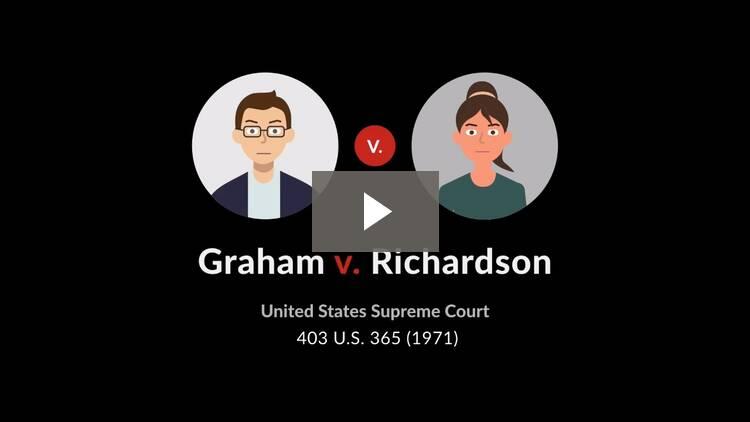 Graham v. Richardson