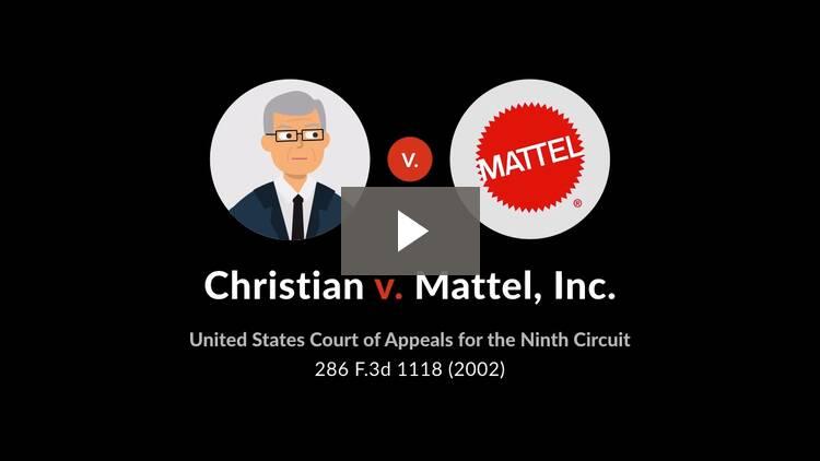 Christian v. Mattel, Inc.