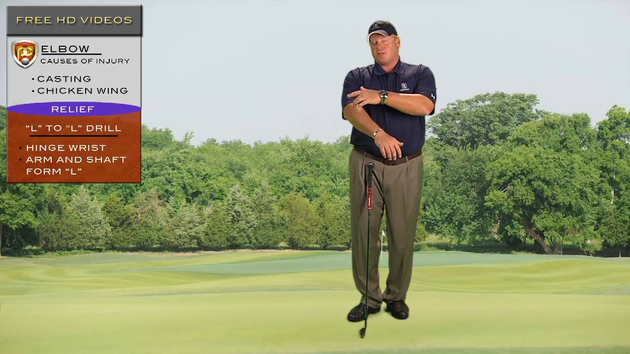 Reduce Elbow Pain in your Golf Swing