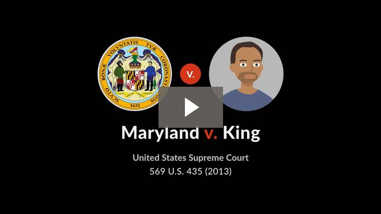 Maryland v. King