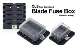 How To: OLS ATC/ATO LED Illuminated Fuse Box Usage & Installation (PSZACCEPS051H/PSZACCEPS052H)
