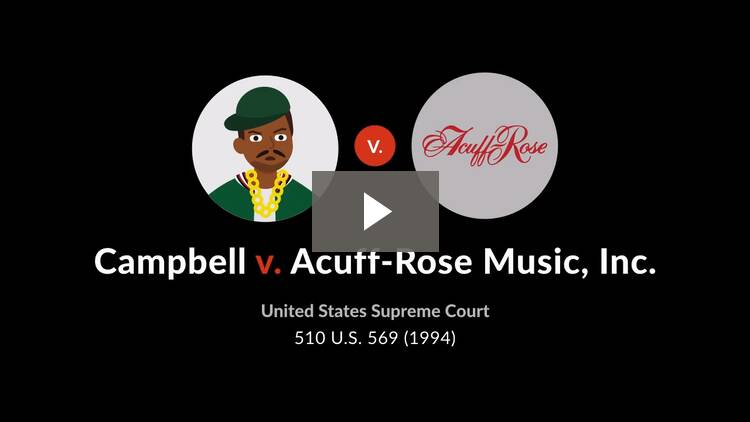 Campbell v. Acuff-Rose Music, Inc.