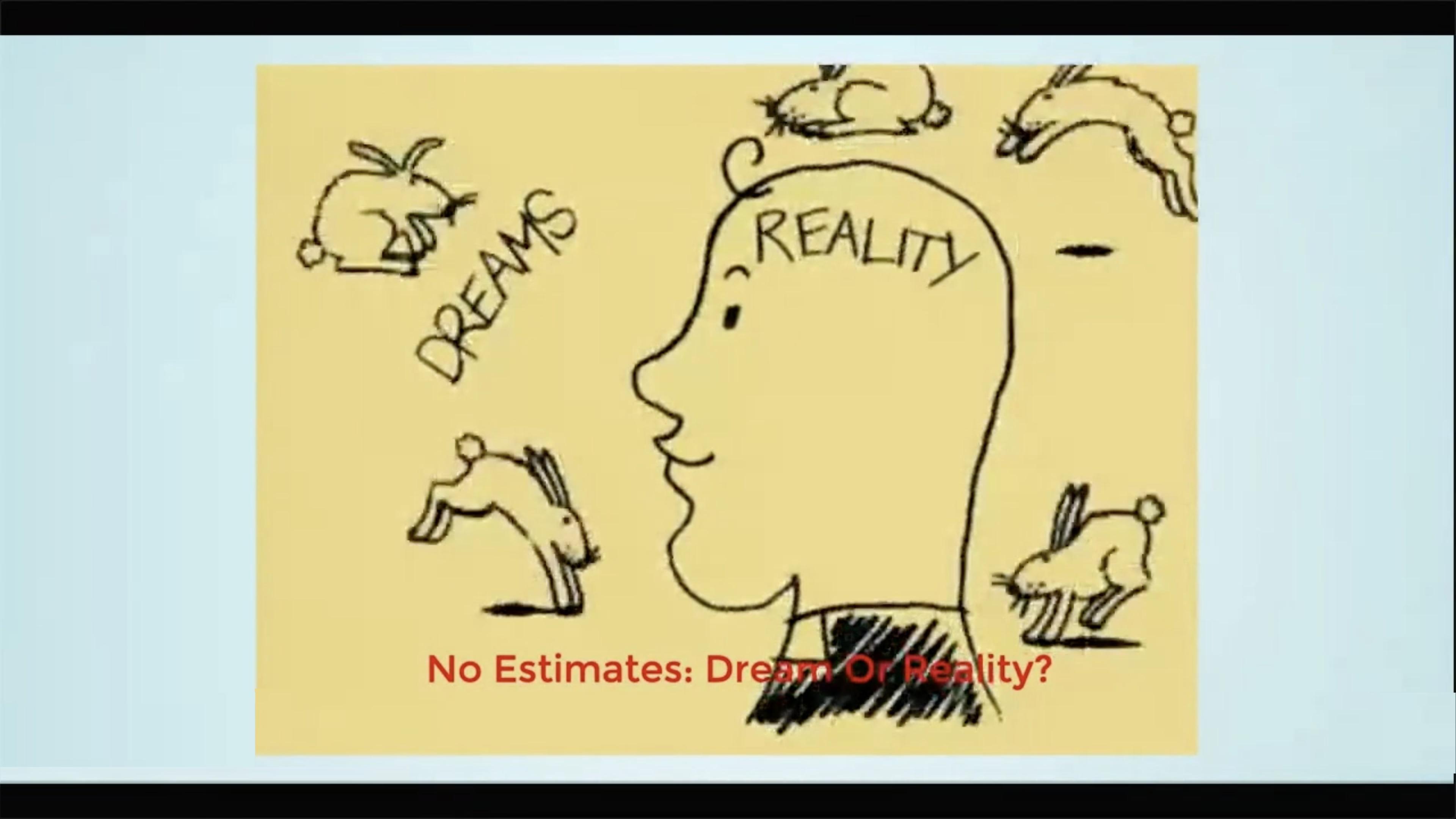 No estimates: dream or reality - Darryn Downey