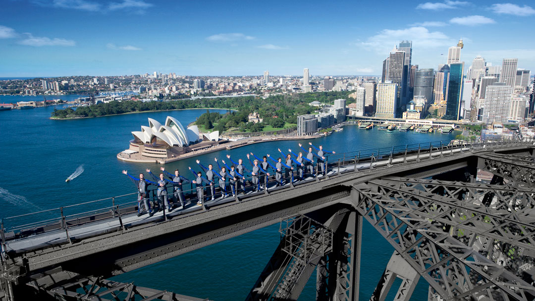 Thumbnail for the listing 'Iconic Sydney Harbour Bridge Climb'