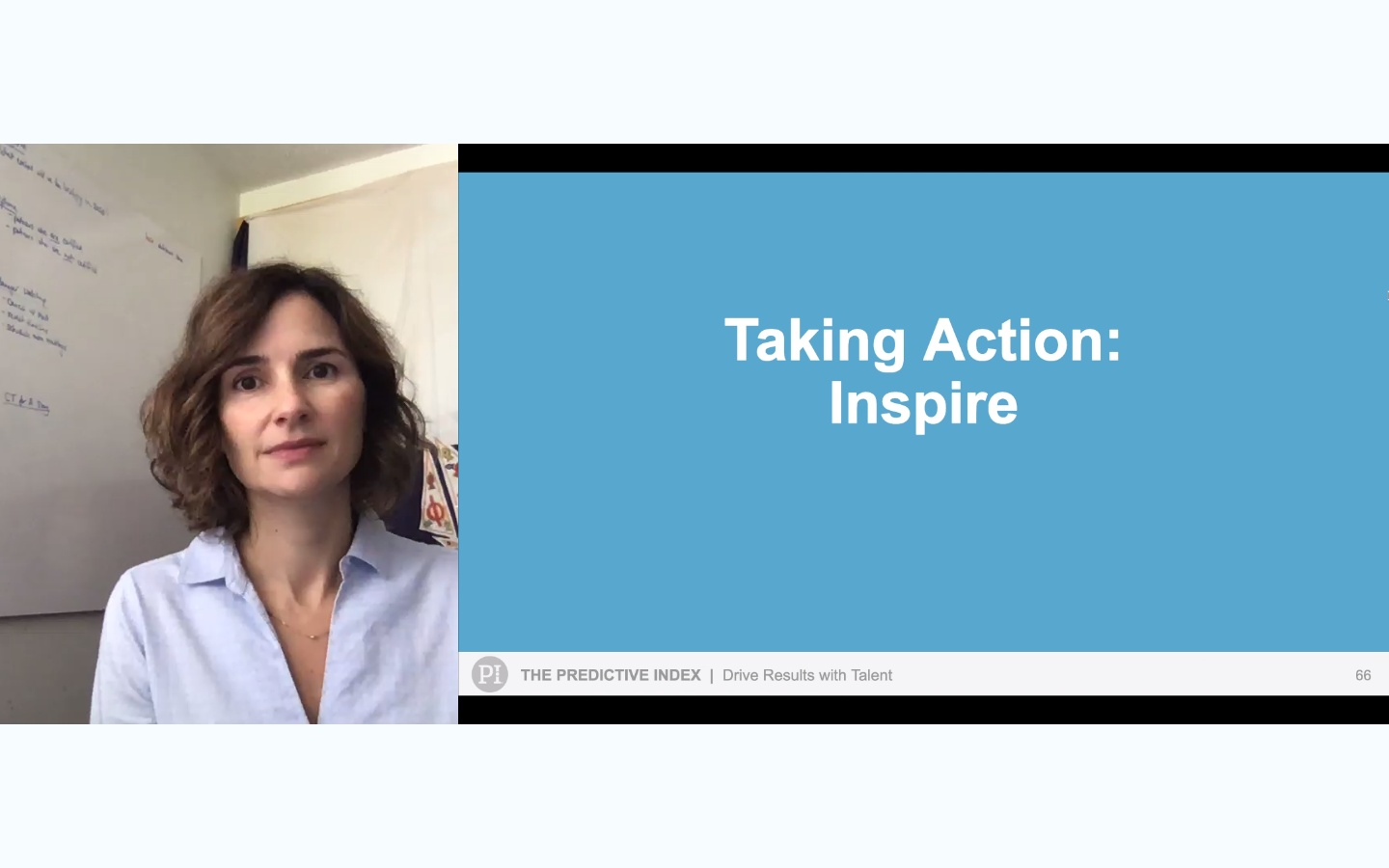 Drive Results with Talent Workshop - 8. Taking Action Inspire