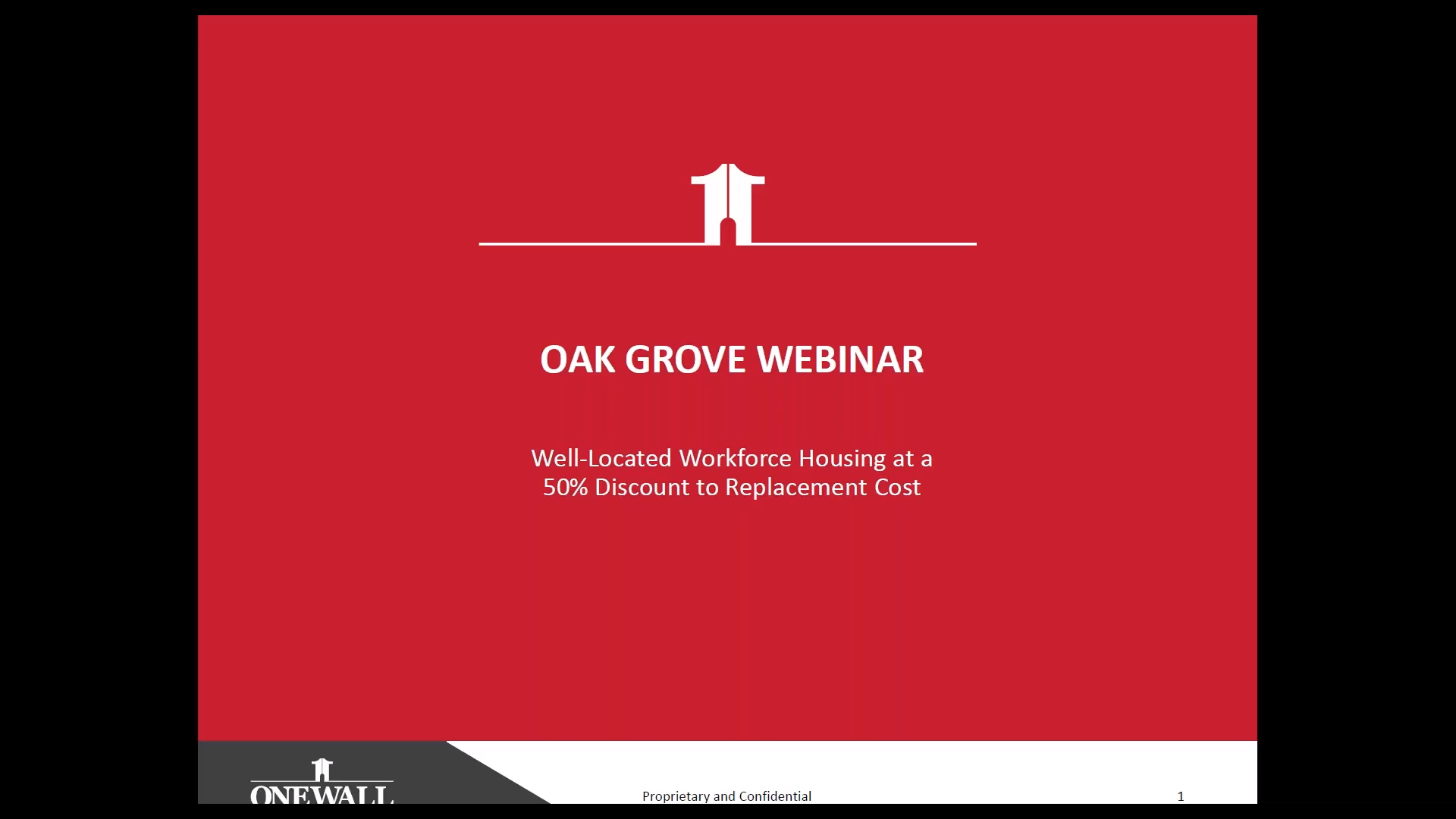 Investment Video - Oak Grove