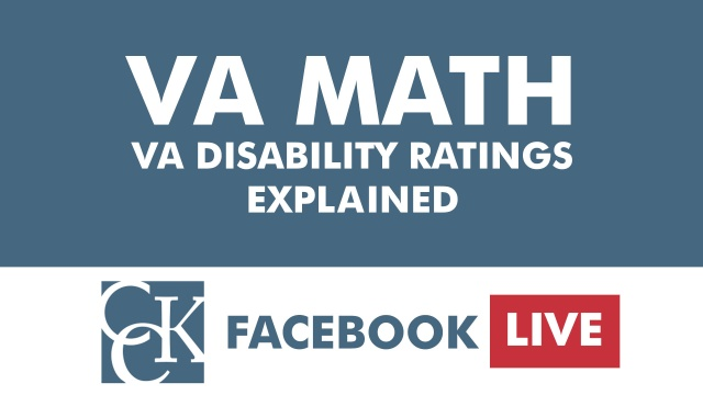 VA Math: Combined Disability Ratings Explained