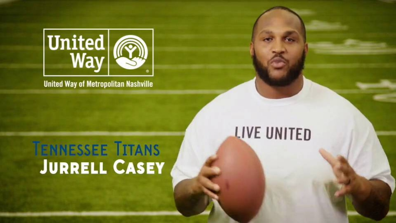 VITA Free Tax Prep Video feat. Tennessee Titan Jurrell Casey