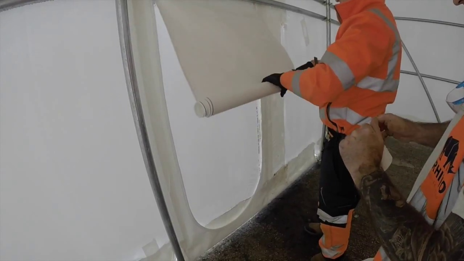How To Install a Zipped Access Door